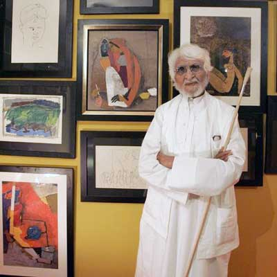 Indian-artist-painter-MF-Husain