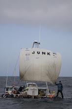 Junk begins her voyage