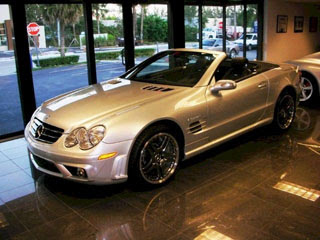 2008 Mercedes Benz SL65 AMG Convertible