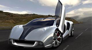 MCE MC1 super car