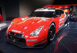 Nissan's GT500 GT-R