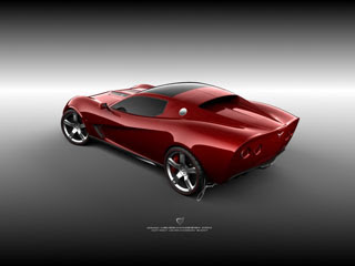 Ugur Sahin Design 2009 Chevrolet Corvette Z03 Concept-2