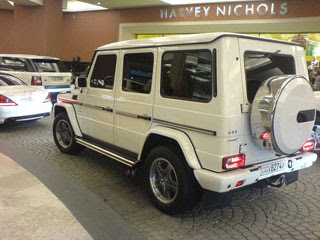 Mercedes G55 AMG-2
