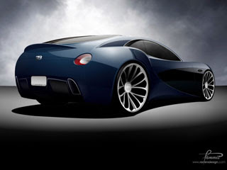 2008 Bugatti Type 12-2 Streamliner Concept Design by Racer X Design-2