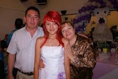 Deshey con sus abuelos