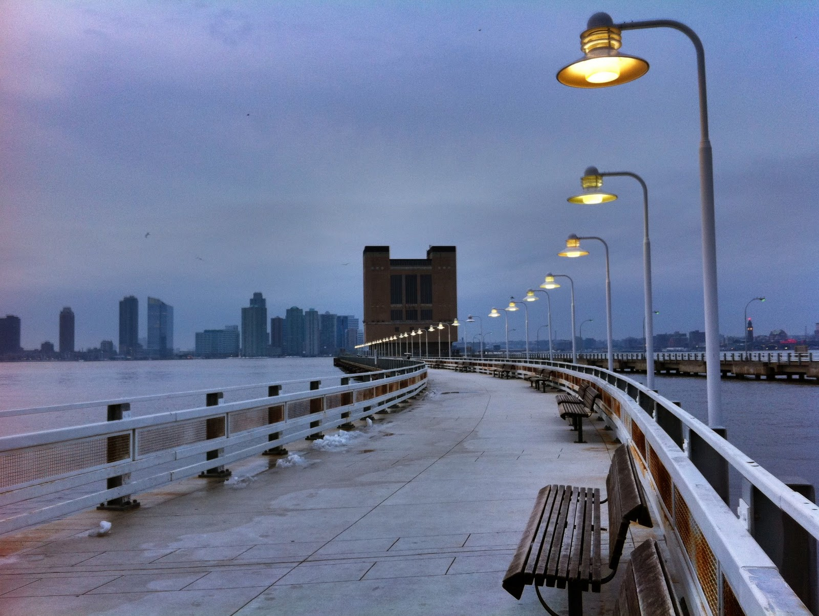 A Winter Walk In Hudson River Park With A Plan For New