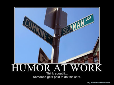 Intersection of Cumming and Seaman