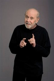 AP Photo: In this undated photo originally released by HBO shows George Carlin in a promotional photo...
