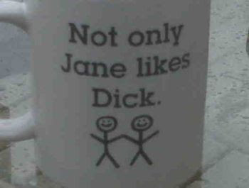 Not only Jane likes Dick...