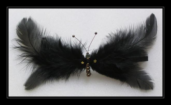 Black Hair-clip II