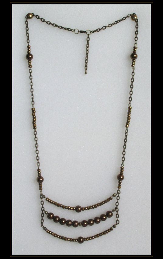Bronze Necklace (art.2.1)