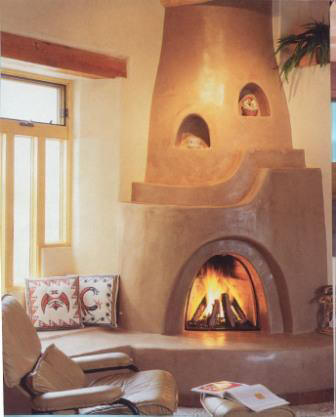 The land of enchantment and enchiladas a lesson for the for Kiva fireplace