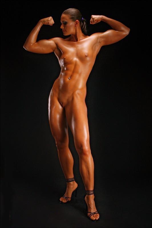 фото накаченных голых женщин