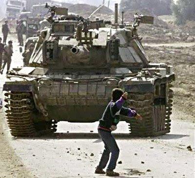 tanque-palestina% - Ley del Talión no es ojo por ojo , es piedra por misil