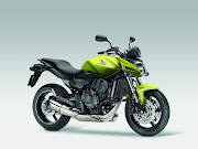 The New CB600F's Hornet abnormally European administration is accentuated by .