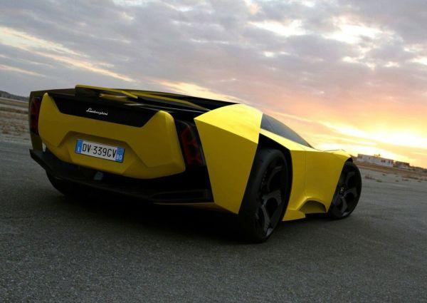 Wallpaper Lamborghini Madura Concept Car