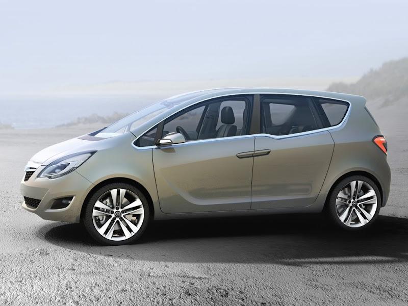 2011 Vauxhall Meriva Concept