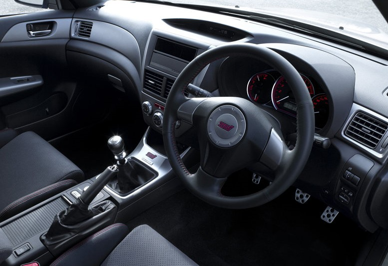 2010 Subaru Impreza R205 interior