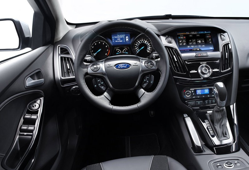 Ford Fiesta Sedan Interior. 2011 Ford Focus Sedan