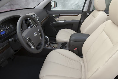 2010 Hyundai Santa Fe US-Version interior