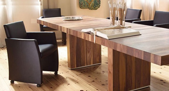 Wood Dining Table Furniture Design