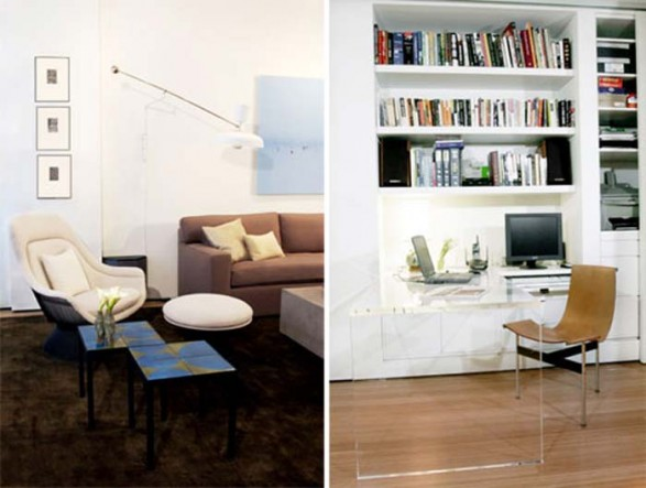 Loft small apartment decorating ideas from tori golub home design - Decoration apartment ...