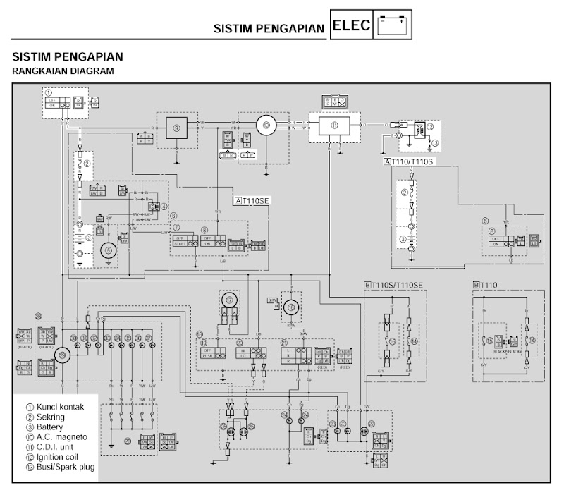 Wiring Diagrams Yamaha Vega R | Wiring Schematic Diagram ... on