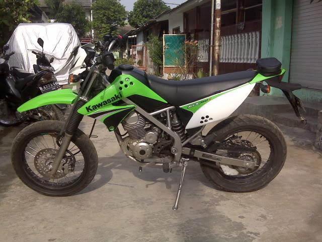 Modifikasi Motor Kawasaki KLX 150