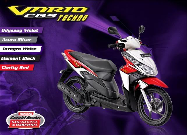New Honda Vario Techno