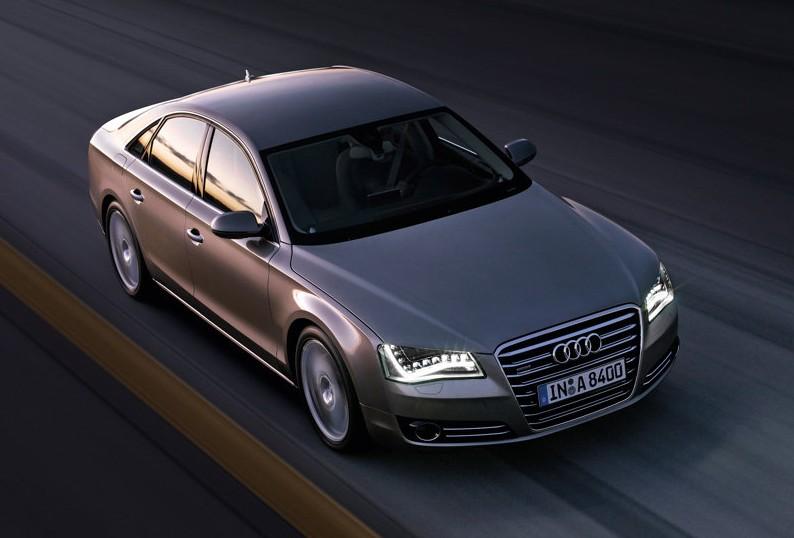 2011 Audi A8 luxury car design