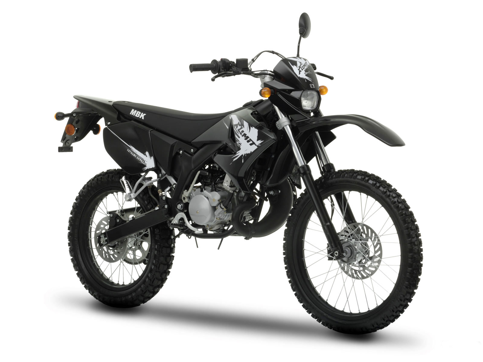 NEW MBK X-LIMIT ENDURO (2010) REVEALED title=