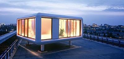 Prefab home architecture LoftCube Four