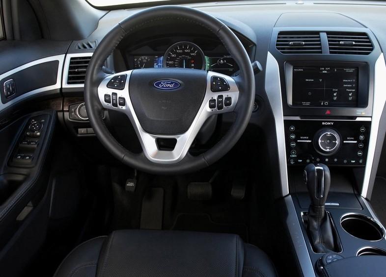 2011 New Ford Explorer Review interior