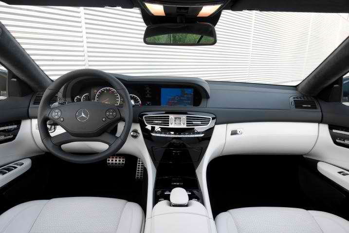2011 New Mercedes-Benz CL63 AMG interior