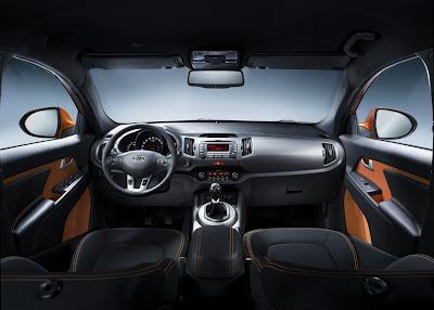 2011 Kia Sportage Interior. 2011 New Kia Sportage Interior