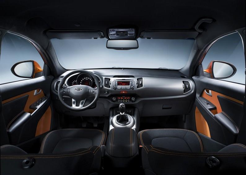 2011 New Kia Sportage Reviews Interior