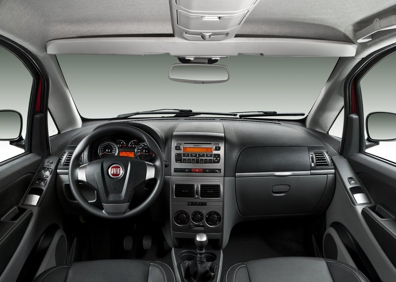 2011 New Fiat Idea Reviews interior
