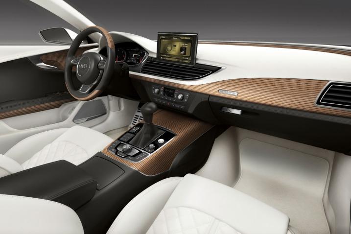 2011 Audi A7 Sportback Concept Interior