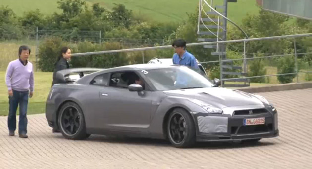 2012 New Nissan GT-R SpecM Review