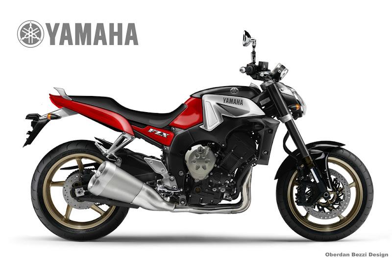 Oberdan Bezzi – Yamaha FZX 1000 Concept
