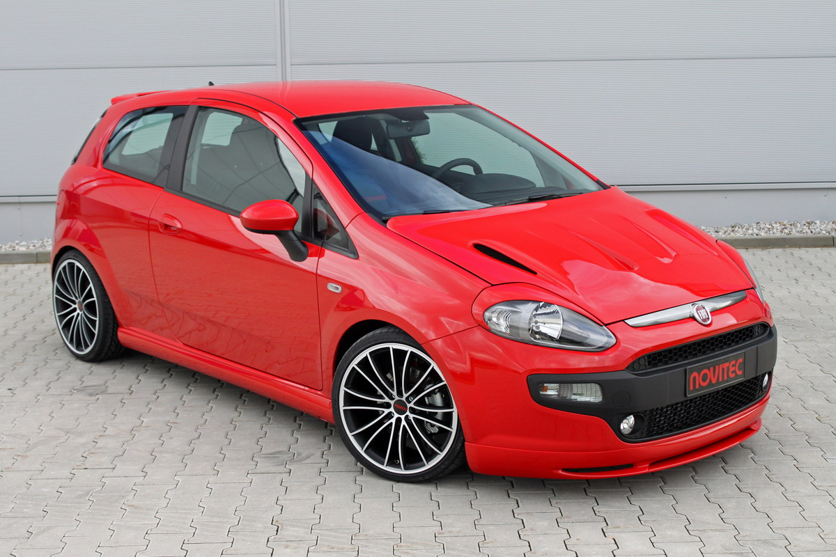 2010 fiat punto evo tuning by novitec new car used car. Black Bedroom Furniture Sets. Home Design Ideas
