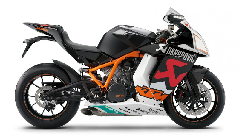 2010 KTM 1190 RC8 R Edition By Akrapovic