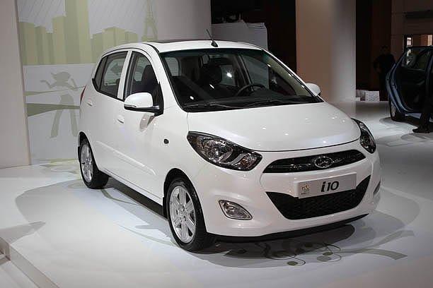 2011 Hyundai i10 in UK