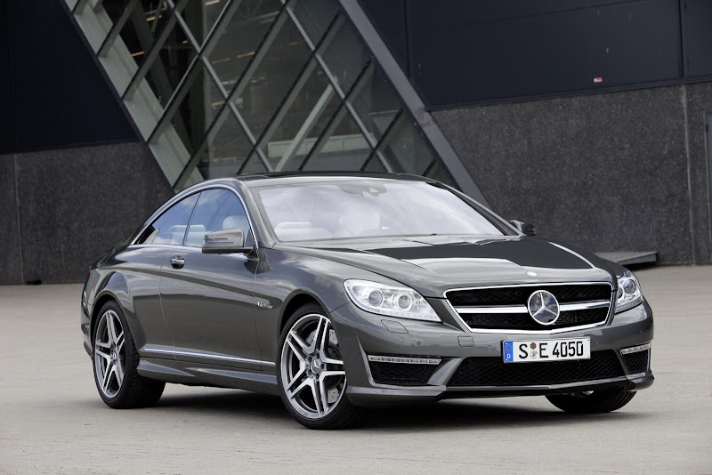 Paris Motor Show  News: 2011 Mercedes CL