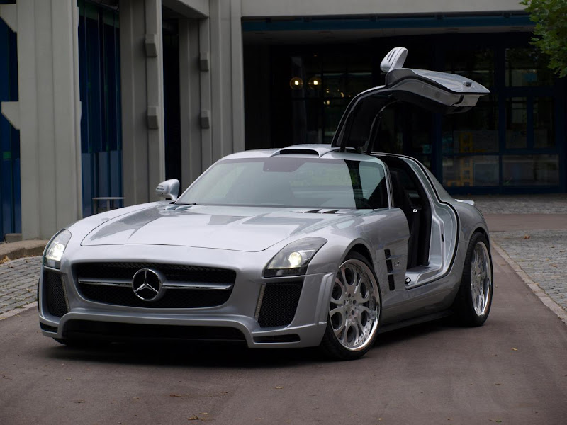 Mercedes SLS AMG by FAB Concept