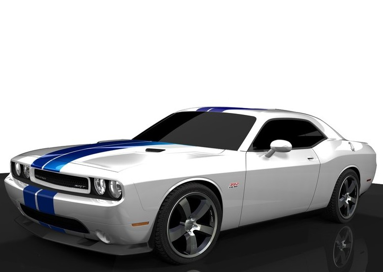Dodge Challenger SRT8 392 Customization