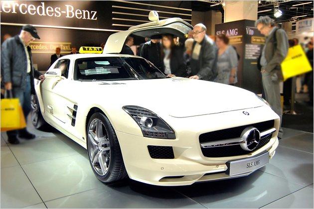 Mercedes SLS Special AMG Taxi Concept