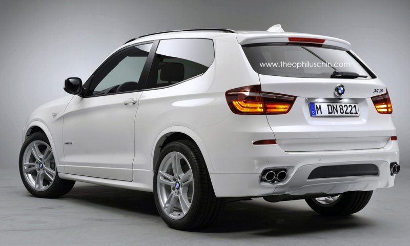 BMW X3 Three-Door Version