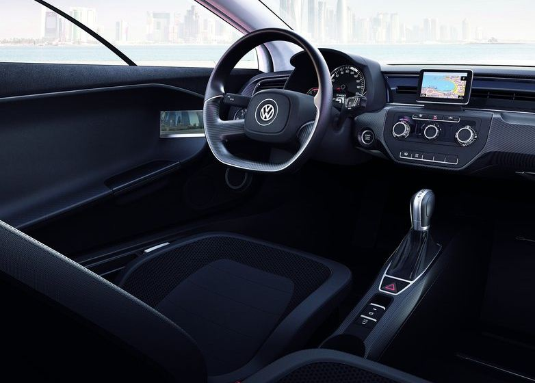 Volkswagen XL1 Diesel Hybrid Concept Interior