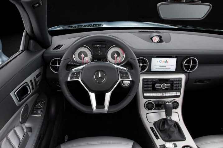 2012 Mercedes-Benz SLK Interior
